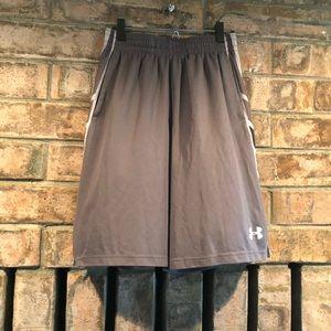 Under Armour Grey Shorts, Men's Med